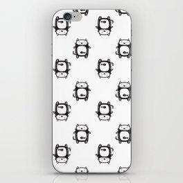Cat pattern iPhone Skin