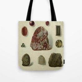 Garnet Minerals Tote Bag