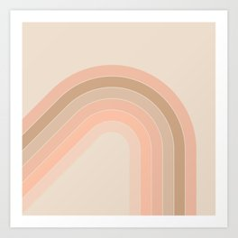 Soft Light Corner Bow Art Print