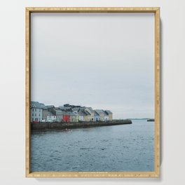 Galway, Ireland Long Walk Serving Tray
