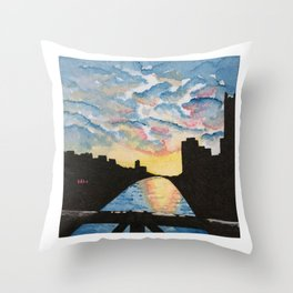 Liberty Bridge Throw Pillow