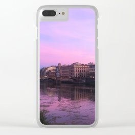 Florence, Italy Clear iPhone Case