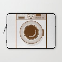 Retro Washing Machine Laptop Sleeve