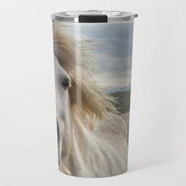 Icelandic Horse. Travel Mug