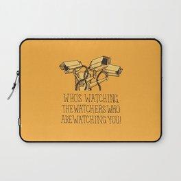 Surveillance Laptop Sleeve
