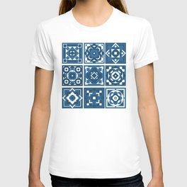 little blue tiles T-shirt