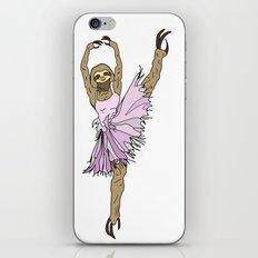 Sloth Ballerina Tutu iPhone & iPod Skin