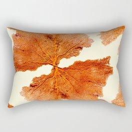 living coral portrait Rectangular Pillow