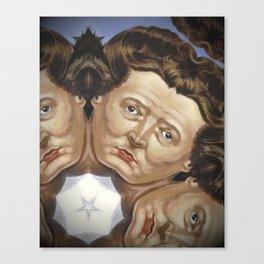 Princess St Queen of Hearts 1 Canvas Print