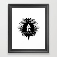 True/Kind: Until The Day I Die Framed Art Print