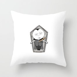 Vampire Bash - Dead Throw Pillow