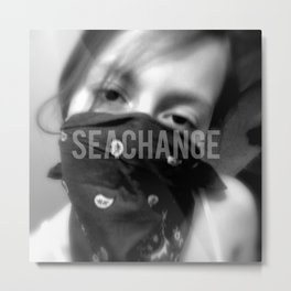 seachange Metal Print