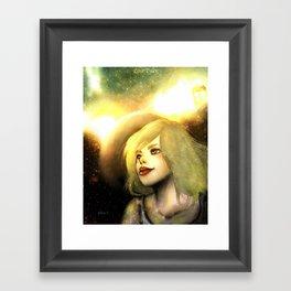 Rose Tyler - Earth Defence Framed Art Print