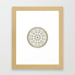 Astral Clocktower (Bloodborne) Framed Art Print
