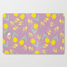 Tulip & Freesia Cutting Board