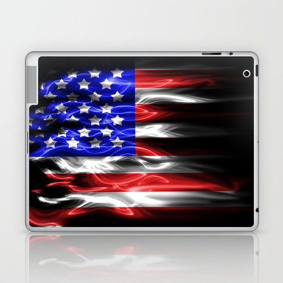 American flames Laptop & iPad Skin