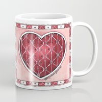 confetti Mugs featuring Confetti by Shelley Ylst Art