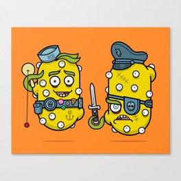 Spudniks Canvas Print
