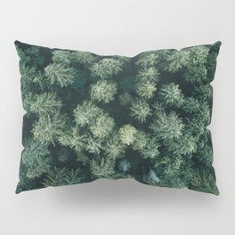Forest from above - Landscape Photography Pillow Sham