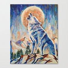 Wolf Lobo Canvas Print