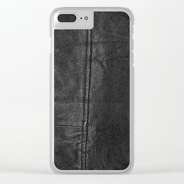 Original Leather (Brushes & Painting) Clear iPhone Case