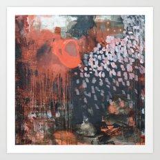 November Impression Art Print