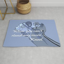 When You Can't Stand Any More ...  Kneel Rug