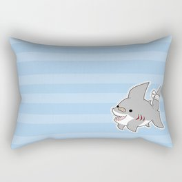 Sharky Dress Up Rectangular Pillow