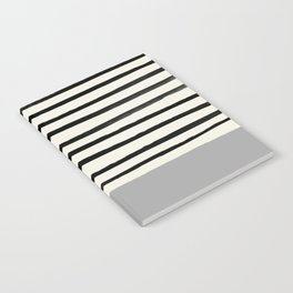Storm Grey x Stripes Notebook