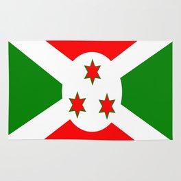 Flag of Burundi Rug