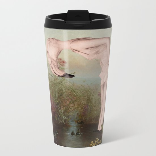 SOME PINK Metal Travel Mug