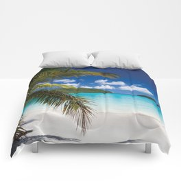 Tropical Shore Comforters