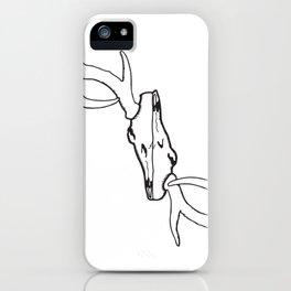Deer Skull iPhone Case