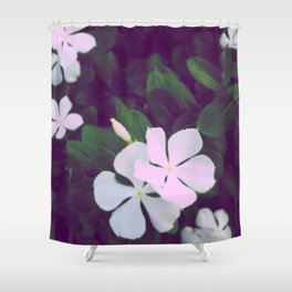 Retro Peri Shower Curtain