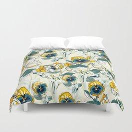 vintage floral pattern 3 Duvet Cover