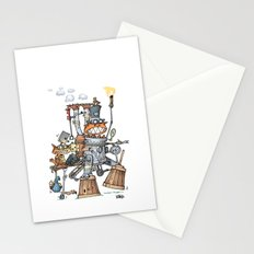Steampunk Kobolds Stationery Cards