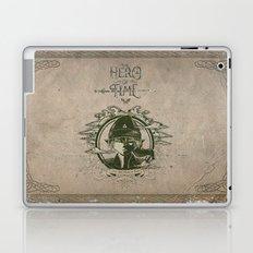 Legend of Zelda Link The Hero of Time Vintage Story Book Laptop & iPad Skin