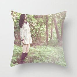 In the Nature  Throw Pillow