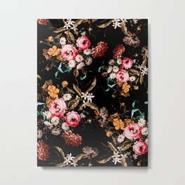Midnight Garden IV Metal Print