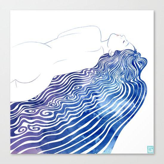 Water Nymph XXXVIII  Canvas Print