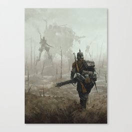 1920 - no man's land Canvas Print