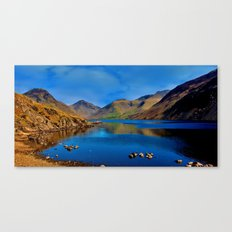 Wastwater English Lake District Canvas Print