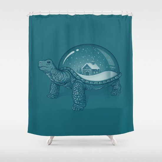 Home Sweet Home Shower Curtain By Enkel Dika