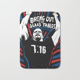 GLASS TABLES Bath Mat