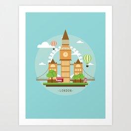 London,England Art Print