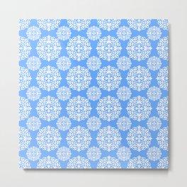 Snowflake Lace Metal Print