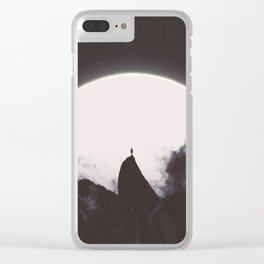 Abaddon Black & White Clear iPhone Case