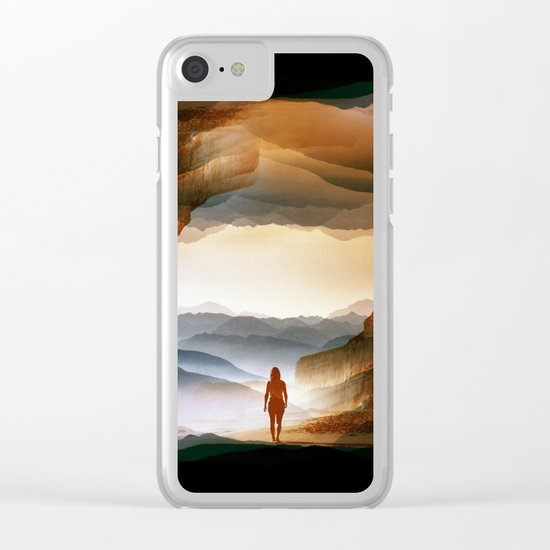 Quiet Heat Clear iPhone Case
