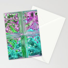 505 - Abstract Glass Design Stationery Cards