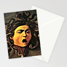 The Head of Medusa Stationery Cards